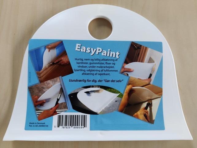 Easy paint Malerabdeckung - Easy paint Malerabdeckung für schnelles streichen von Fussleisten und mehr