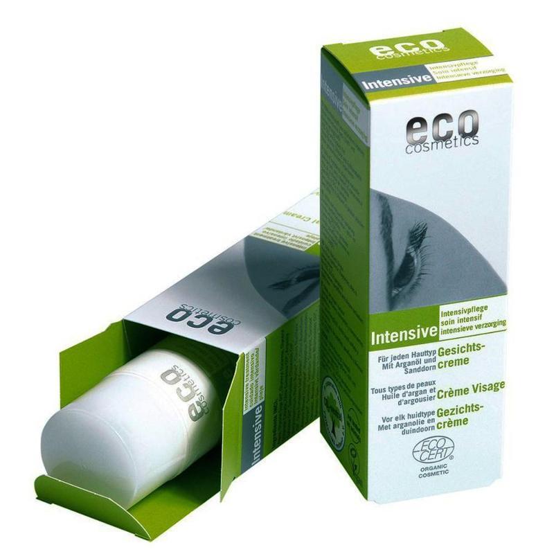 ECO Intensiv Gesichtscreme 50ml mit Arganöl und Sanddorn - null