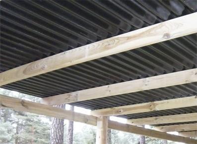 Carport en bois autoclave - null