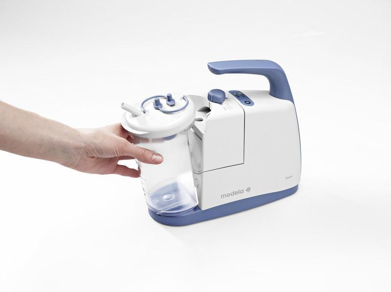Aspirador de las vías aéreas Clario - Ofrece libertad al usuario gracias a su diseño compacto y portátil