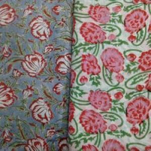 Block Print Fabric -