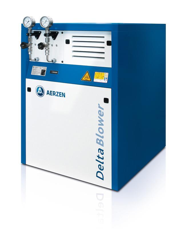 AERZEN Biogas-Aggregat Delta Blower GM 3S ... 50L
