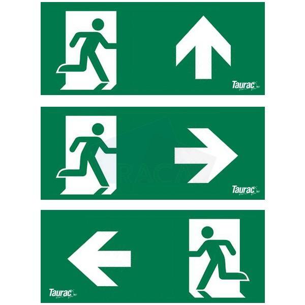 Taurac emergency lighting legend kit for exit sign  - B1D14601