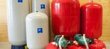 Hauswasseranlagen, Trinkwasserpumpen, Druckkessel