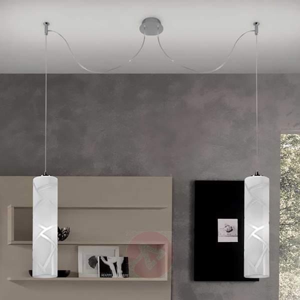 Fantastic hanging light Boheme, two-bulb - Pendant Lighting