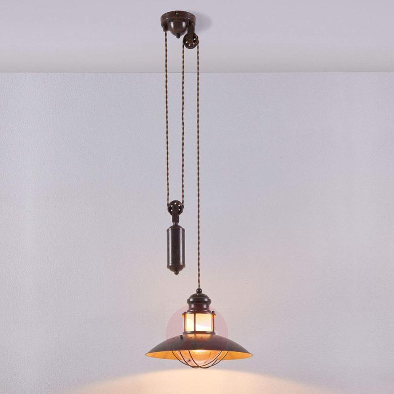 Height-adjustable Louisanne pendant light - indoor-lighting
