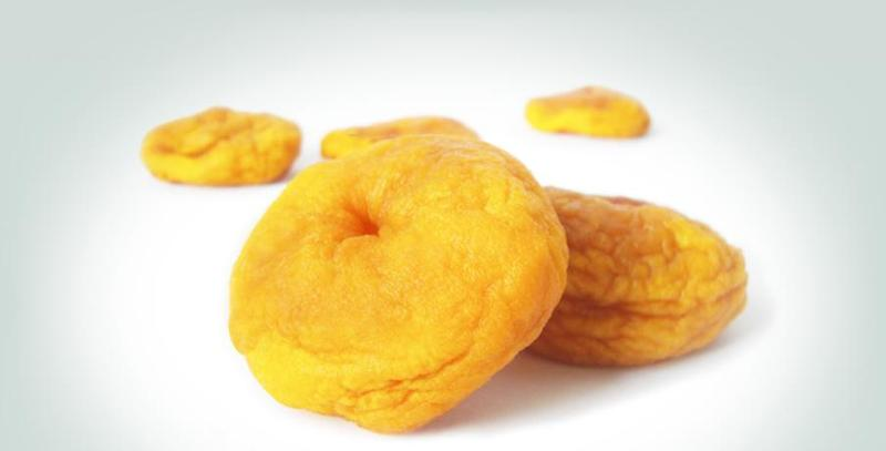 Dried fruits - Peaches: The yellow fruit with the mellow taste.