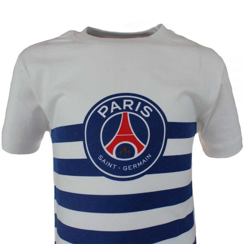 5x T-shirts manches courtes PSG du 4 au 12 ans - T-shirt et polo manches courtes