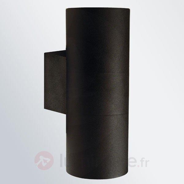 Applique d'extérieur Tin Maxi Double, noire - Toutes les appliques d'extérieur