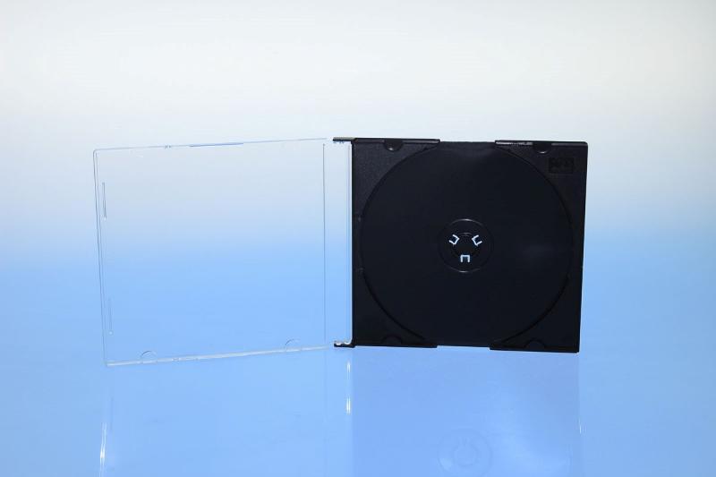 CD Slimcase - 5.2mm - schwarz - bulkware - Slimcases & Maxiboxen