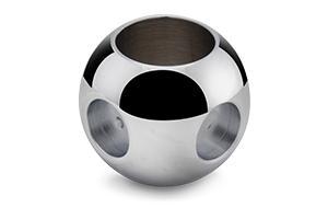 Sfera con foro di scarico a 45° - sfere speciali