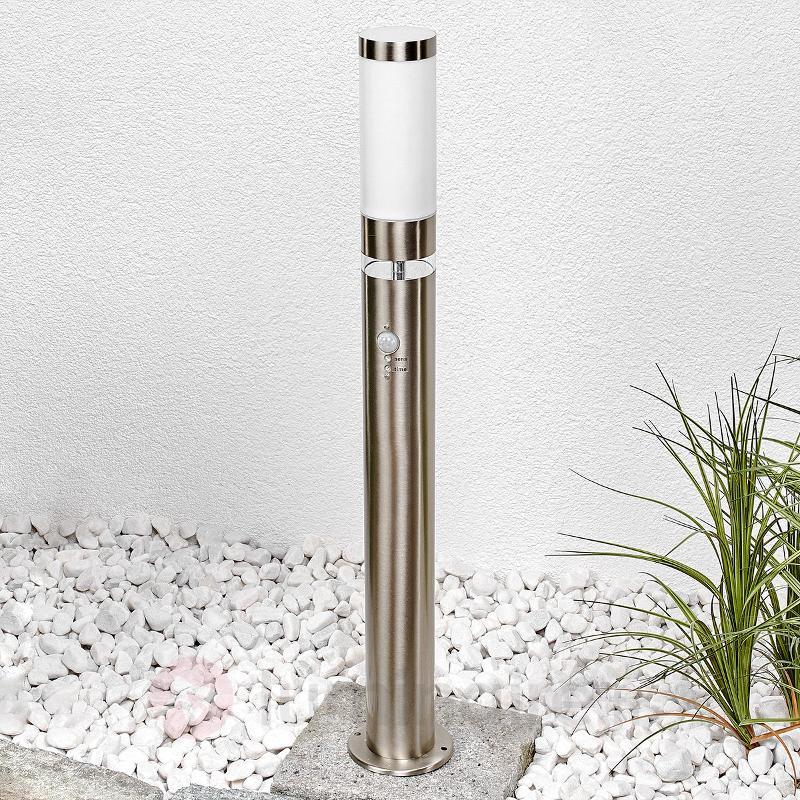 Borne lumineuse Binka avec capteur - Bornes lumineuses avec détecteur