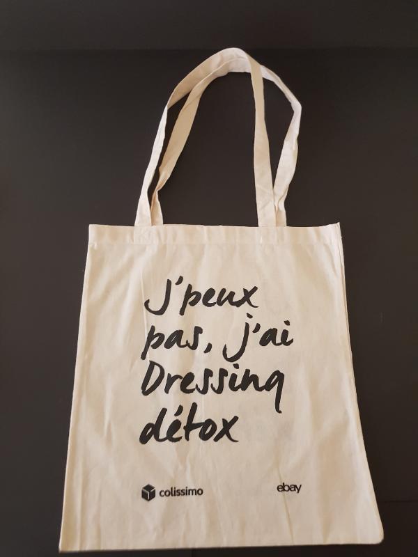 Sac Coton - Colori Noir sac type boutique vêtements