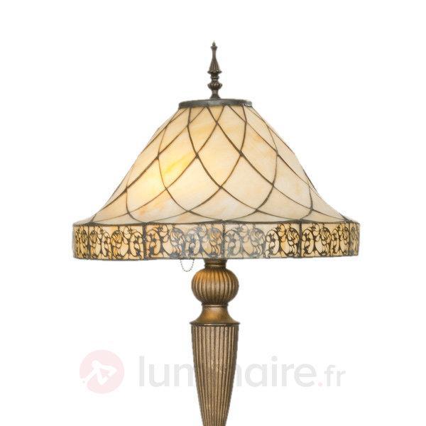 Lampadaire Diamond avec diffuseur style Tiffany - Lampadaires style Tiffany