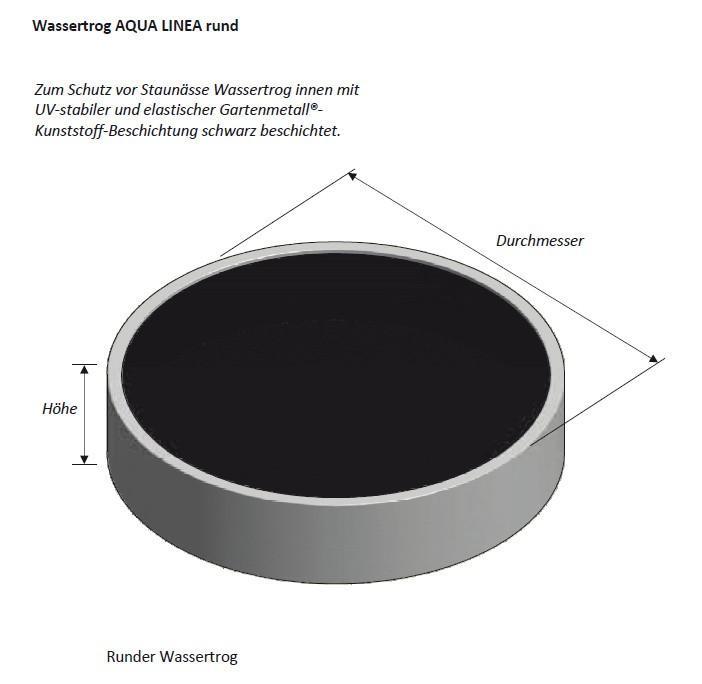 Modular stainless steel fountain system AQUA LINEA... - null