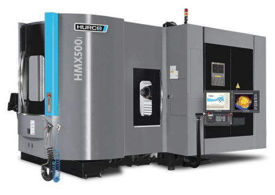 Horizontal-4-Axis-Machining-Center - HMX 500i SK50 - Power and unbeatable value - the ideal machine for medium sized 4-axis parts