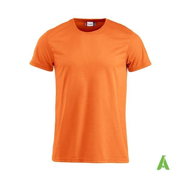 Tshirt colori fluorescenti personalizzata per aziende - Tshirt con tessuto fluorescente personalizzata col tuo logo aziendale