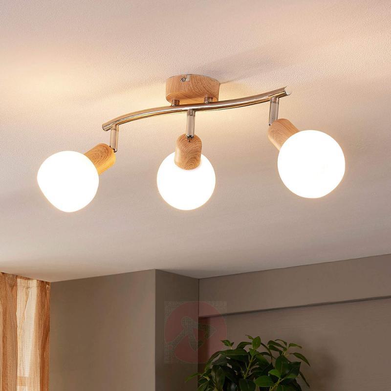 Lovely ceiling light Svenka with E14 LED - indoor-lighting