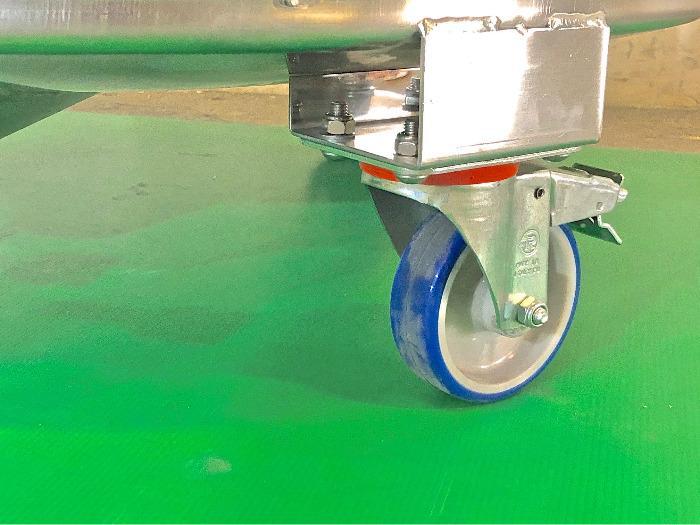 Depósito de acero inoxidable 304 - 4,51 HL - Modelo COR450D
