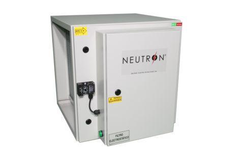 NEUTRON - Filtro Electrostático/Electrostatic Air Filter - Construção modular, desempenho operacional, facilidade de manutenção.