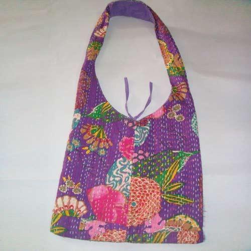 Vintage Quilt Hobo Bag -
