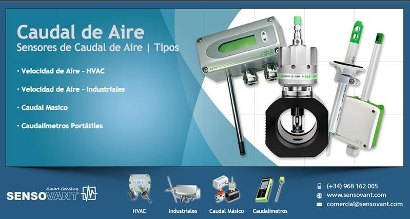 Sensores de Caudal de Aire
