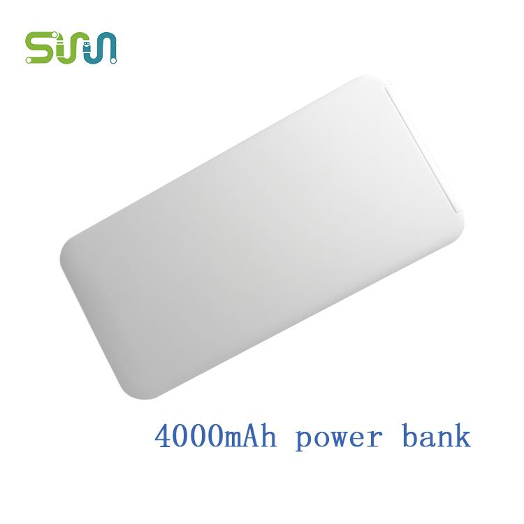 ultra thin portable power bank 4000mAh - power bank 4000