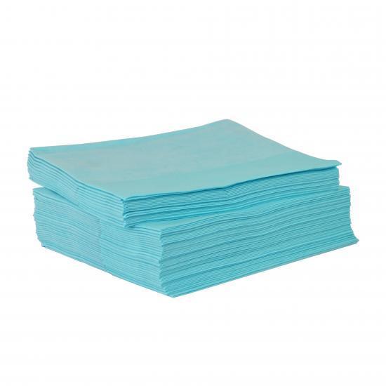 Chiffon non tissé bleu résistant paquet de 50 feuilles... - Essuyage