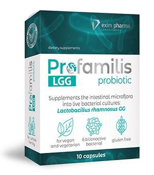 PROFAMILIS PROBIOTIC LGG 10 caps - null