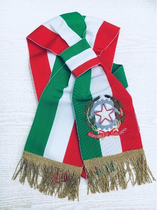 Fascia tricolore per sindaco - Fascia tricolore italiano regolabile per Sindaco di citta' e paese
