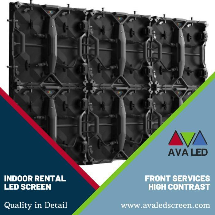 Elite CR Indoor Series - P1.95 - P2.6 - P2.97 - P3.91 Telas LED AVA para locação