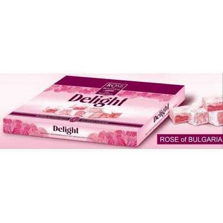 """Bonbons à l'huile de rose """"Turkish DELIGHT"""" - Aliments à la rose"""