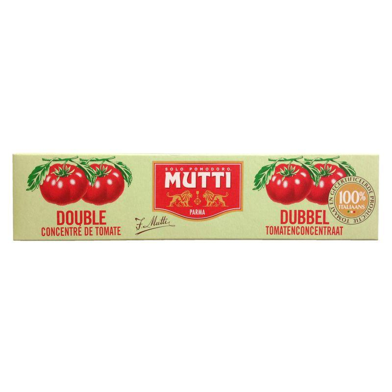 Double concentré de tomate 130g - MUTTI - Double concentré de tomate 130g - MUTTI