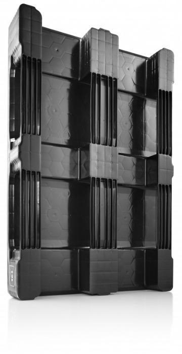 TC1 ECO - Paleta de plástico, Palets con parte superior cerrada, Palet reciclable