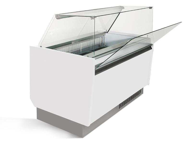 Ice counter - Ice counter 1.25 x 0.92 m - white