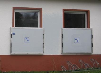 Hochwasserschutz: Fensterschott - null