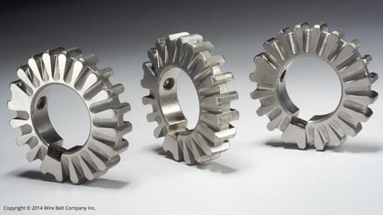 Conveyor components: Clean-Sweep™ sprockets - Sprockets for lowered product buildup