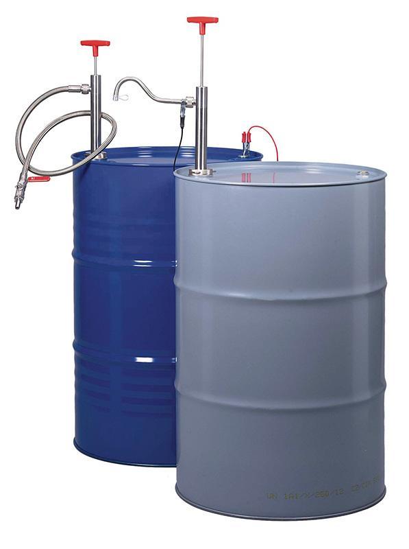 Bomba de acero inoxidable para barril - para el trasiego de líquidos combustibles e inflamables