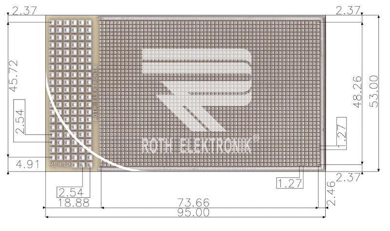 RE435-LF - Prototyping Boards SMD