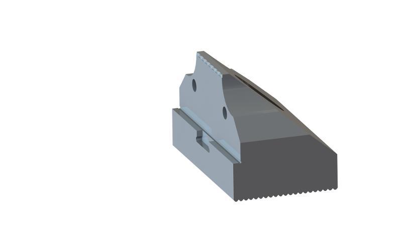 Zentrobacke oben 30 mm breit mit Krallen - null