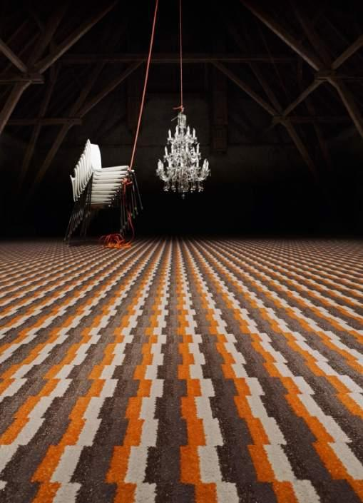 Blogg 1200 - Wall-to-wall Carpet - Retro design gains new ground.