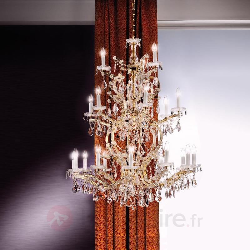 Somptueux lustre de cristal Tjura - Lustres en cristal