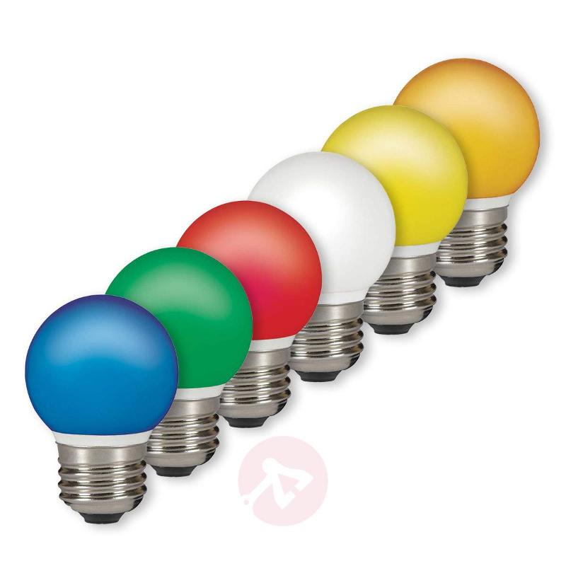 E27 0.5 W LED golf ball bulb, outdoor fairy lights - LED Bulbs