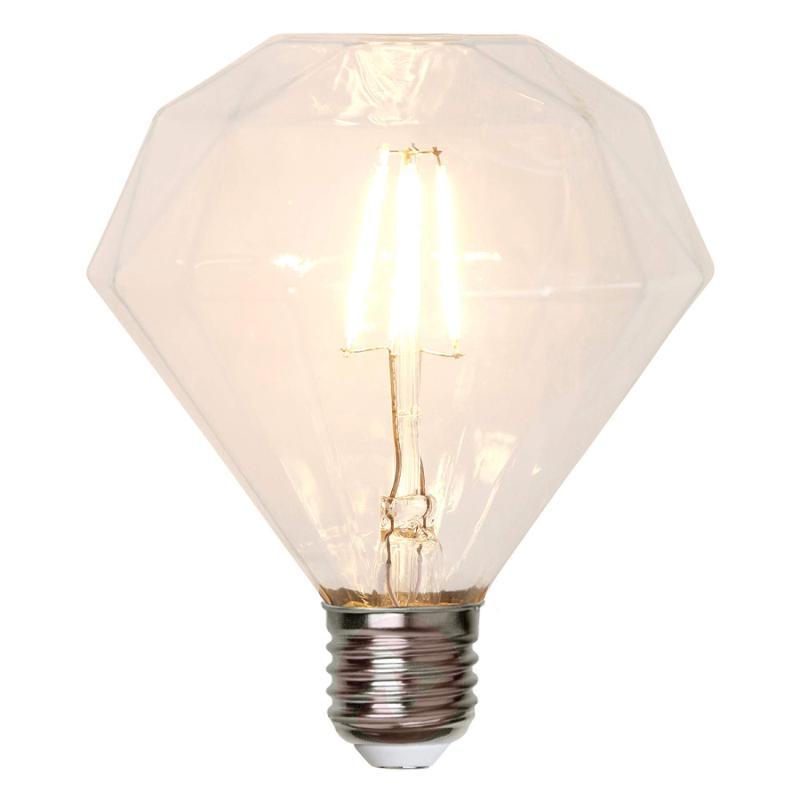 E27 3.2 W 827 LED bulb diamond-shaped - light-bulbs