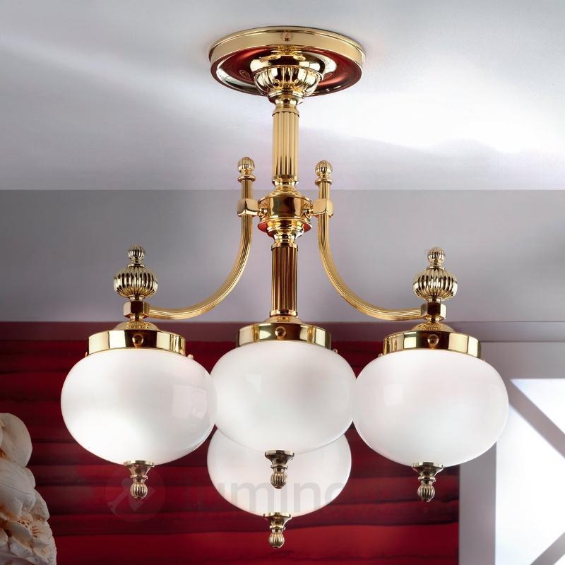 Charmant plafonnier DELIA, 4 lumières - Plafonniers classiques, antiques