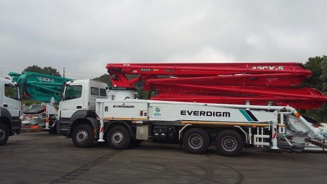 Beton Pompasi - Everdigm ECP 42 CX 5 Concrete Pump