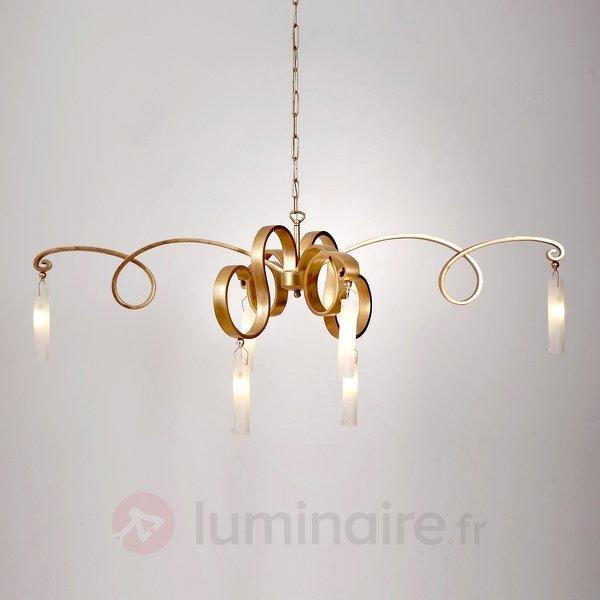 Magnifique suspension FIDANZATA GOLD, 6 lampes - Toutes les suspensions