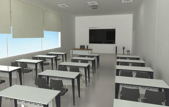 Latest commercial school furniture desk - Affordable modern single and couple school tables