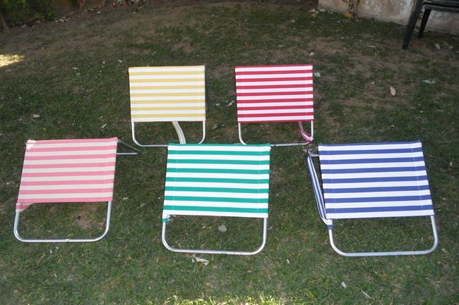 Encosto/Cadeira para Praia, Campo e Piscina -