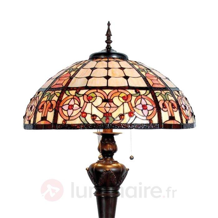 Lampadaire Lindsay style Tiffany - Tous les lampadaires